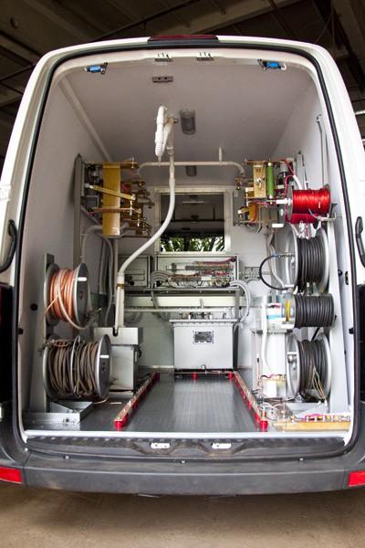 Отгрузка лабораторий высоковольтных испытаний ППУ-1