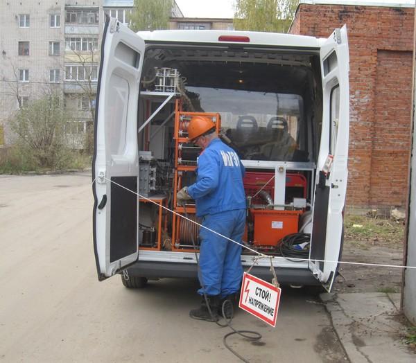 Применение модернизированных передвижных электроиспытательных лабораторий.