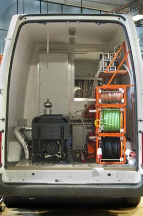 ППУ-2 «СУРА» для испытания кабелей 6-10 кВ, оборудования подстанций специалистам МУП «Коломенская электросеть» г. Коломна Московской области