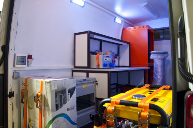 Метрологическая лаборатория ПМЛ «СУРА» для нужд Курской АЭС, г. Курчатов.