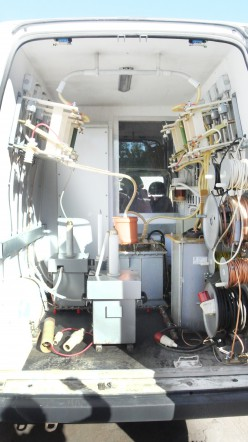 """В наличии: Передвижная электротехническая лаборатория """"СУРА"""" на базе Ford Transit"""