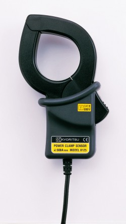 Kyoritsu KEW Model 6300-01 - Компактный измеритель мощности в комплекте с клещевыми адаптерами (Ø40, 500А - 3шт)
