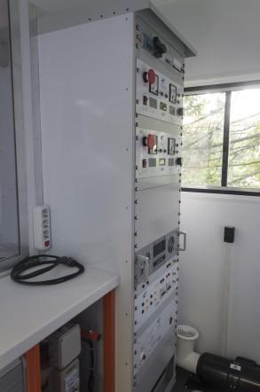 Электротехническая лаборатория высоковольтных испытаний СУРА на шасси ГАЗ-33081