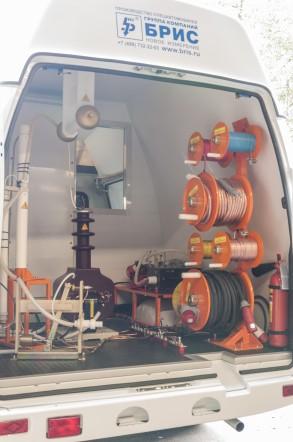 Стандартная базовая модель передвижной испытательной (подстанционной) электротехнической лаборатории СУРА