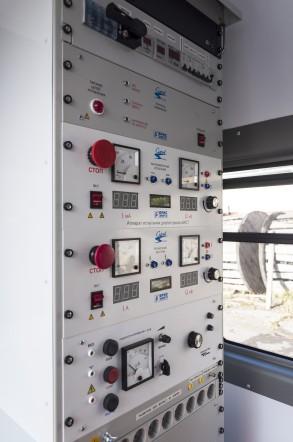 """Передвижная высоковольтная электролаборатория """"СУРА"""" для испытания и поиска мест повреждений кабельных линий напряжением до 10кВ"""