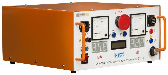 Высоковольтная установка для испытания кабелей из сшитого полиэтилена (СПЭ) АИСТ СНЧ 30