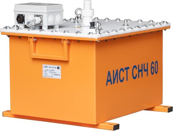 Высоковольтная установка для испытания кабелей из сшитого полиэтилена (СПЭ) АИСТ СНЧ 60