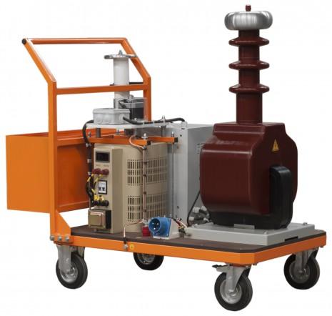 Аппарат испытания диэлектриков АИСТ 100М с сухим трансформатором