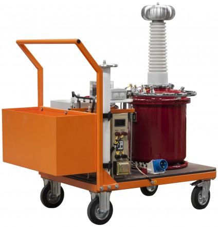 Аппарат испытания диэлектриков АИСТ 100М(G) с элегазовым (SF6) трансформатором