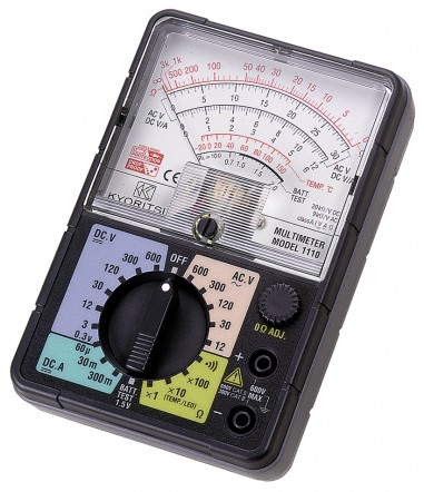 Аналоговый мультиметр KEW 1110