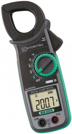 Цифровые токоизмерительные клещи KEW 2007R (AC / 33мм)