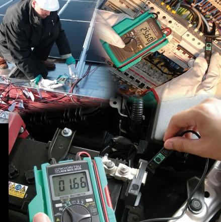 Цифровой мультиметр с токоизмерительными клещами KEWMATE 2012R