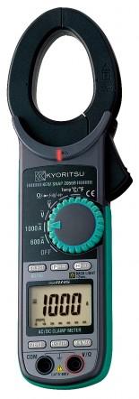 Цифровые токоизмерительные клещи KEW 2055 (AC/DC / 40мм)