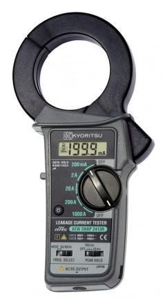 Цифровые токоизмерительные клещи для измерения тока утечки на переменном напряжении KEW 2413F (68мм)