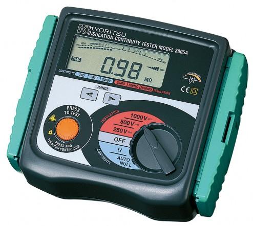Цифровой мегаомметр (измеритель сопротивления изоляции) 3005A