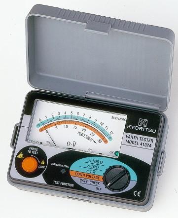 Аналоговый измеритель параметров сопротивления заземления Kyoritsu KEW Model 4102A
