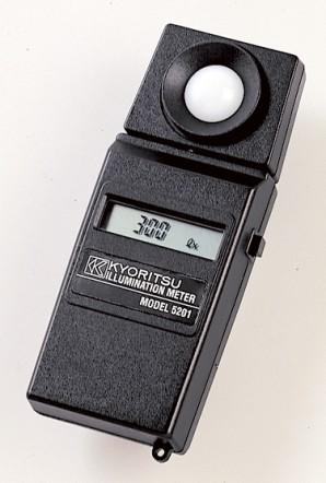 Цифровой люксметр (измеритель освещенности) Kyoritsu KEW Model 5201