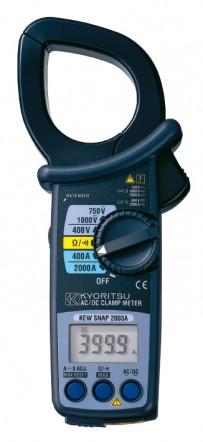 Цифровые токоизмерительные клещи KEW 2003A (AC/DC / 55мм)
