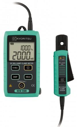 Цифровые токоизмерительные клещи - миллиамперметр KEW 2500 (DC / 6мм)