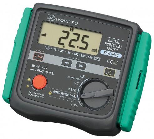Цифровой измеритель параметров устройств защитного отключения (УЗО) Kyoritsu KEW Model 5410
