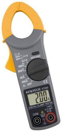 Цифровые токоизмерительные клещи для измерения переменного тока KEW KT 200 (30мм)