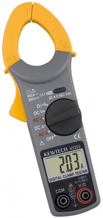 Цифровые токоизмерительные клещи для измерения постоянного и переменного тока KEW KT 203 (30мм)