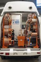Передвижные кабельные электролаборатории СУРА (ППУ-1, ППУ-2, СУРА-1, СУРА-2)