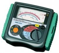 Аналоговый мегаомметр (измеритель сопротивления изоляции) KEW 3131A