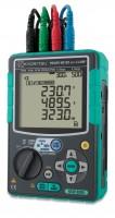KEW 6305-01 Измеритель мощности в комплекте с клещевыми адаптерами (Ø40, 500А)