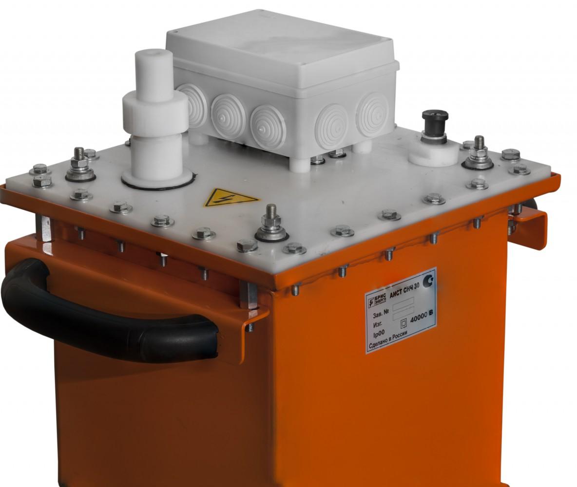 Установка для испытания кабеля из сшитого полиэтилена vlf